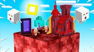 Minecraft SKYBLOCK But You Only Get ONE BLOCK!
