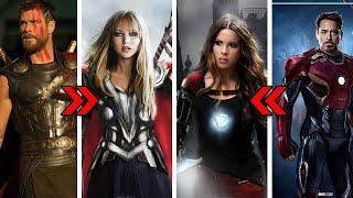AVENGERS ENDGAME : GENDER SWAP | AVENGERS GENDER SWAP | AVENGERS CHARACTERS GENDER CHANGE | TOP 10