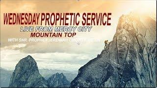 WEDNESDAY PROPHETIC SERVICE FROM MERCY CITY MOUNTAIN TOP REBROADCAST (5TH FEB. 2020)