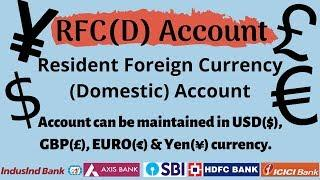 Resident Foreign Currency (Domestic) Account Benefits | Best Bank for RFC Account