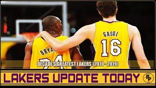 LAKERS UPDATE JANUARY 2, 2020 | Top 10 Best Lakers Player For The Last Decade 2010 - 2019