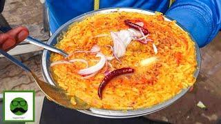Sabse Tasty Kadhi Chawal in India   Famous Street Food Veggiepaaji