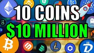 10 COINS TO $10 MILLION! Top Altcoins to GET RICH for September 2020