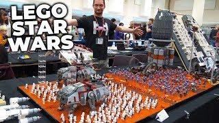 LEGO Star Wars Battle of Geonosis with 500+ Minifigs!