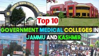 Top 10 Government Medical Colleges In Jammu and Kashmir