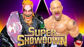 THE FIEND BRAY WYATT VS GOLDBERG WWE UNIVERSAL CHAMPIONSHIP ACTION FIGURE MATCH! SUPER SHOWDOWN 2020