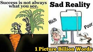 Top Pictures with Great Deep Meaning | Very Sad Reality of Today's World | One Picture Billion Words