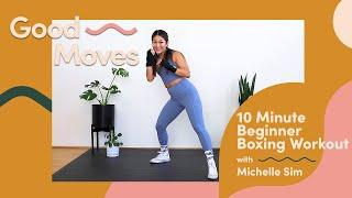 10 Minute Beginner Boxing Workout   Good Moves   Well+Good