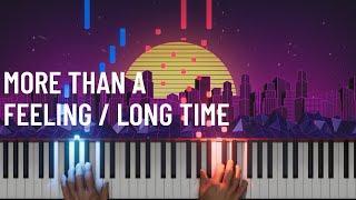 Boston - More Than A Feeling / Long Time (Piano/Cello) - The Piano Guys