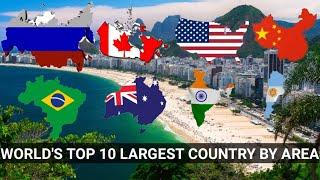 EP. - 2 | World's Top 10 Largest Country By Area.
