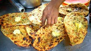 KULCHA KING of PUNJAB - Pakistani Food in India!! BEST Indian Street Food in Amritsar, India