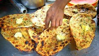 KULCHA KING of PUNJAB - Pakistani Food in India!! BEST Indian Street Food in Amritsar, India