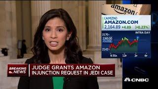 Judge grants Amazon injunction request in Jedi case