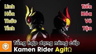 Tổng hợp các hình dạng nâng cấp Kamen Rider Agito | Kamen Rider Agito | Ten Tun