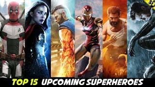 Top 10 Superheroes Coming In MCU Phase 4 [Explained In Hindi]