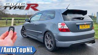 Honda Civic Type R EP3 REVIEW POV Test Drive on AUTOBAHN (NO SPEED LIMIT) by AutoTopNL