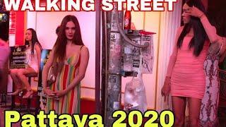 Pattaya 2020 - Walking street action