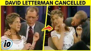 David Letterman Cancelled For Creepy Behavior