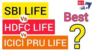 HDFC LIFE vs SBI LIFE vs ICICI PRU LIFE | WHICH LIFE INSURANCE STOCK BEST FOR LONG TERM INVESTMENT