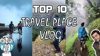 Top 10 Travel Place Vlog || Travel Video || Short Reels