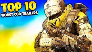 Top 10 WORST Cod Trailers of All Time