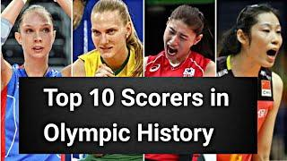 Top 10 Scorers in Volleyball Olympics History.