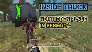 Top 1 hidden place in free fire || No.1 hidden place in Bermuda || Secret place of Bermuda