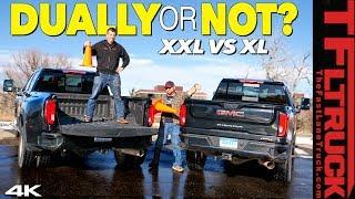 Single Rear Wheel vs Dually - What's The Best HD Truck For You? We Find Out at The Local Drive Thru!