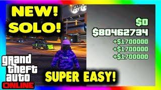 *NEW!* (Only 3 Steps) GTA 5 SOLO MONEY GLITCH - EASY! $1,500,000+ In 2 Minutes (GTA V Money Glitch)