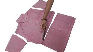Best Re Use Idea From Old Shirt // Diy Idea // Transformation Idea // By Simple cutting