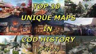 Top 10 Most Unique Maps in Call of Duty History Part 2! - Call of Duty History - Multi COD Gameplay