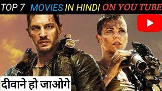 Top 7 Hollywood Hindi dubbed movies on YouTube