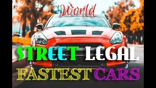 Top 10 Fastest Cars | Street Legal, Top Speed, Modern, Fast & Furious Cars in the world #2