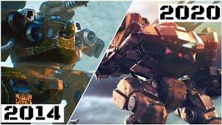 TOP 10 War Robots TRAILERS of All Time [2014-2020]