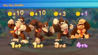 Mario Party 10 Amiibo Wario Board Vs Amiibo Donkey Kong Board