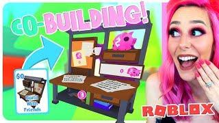 ADOPT ME NEW *FREE* CO-BUILDING UPDATE! How It Works! Roblox Adopt Me Update
