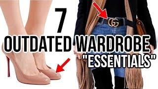 "7 Wardrobe ""Essentials"" That Are Becoming OUTDATED!"