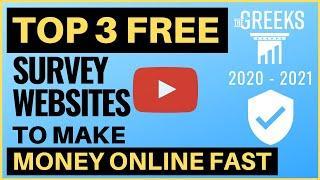 Top 3 FREE Survey Websites