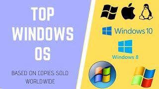 TOP OS for PC | Best Windows Operating System of All time | Copies sold
