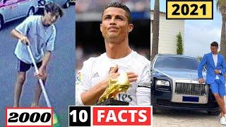 Cristiano Ronaldo 10 SHOCKING UNKNOWN Facts | You Didn't Know | 2021