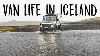VAN LIFE IN ICELAND, the land of fire and ice
