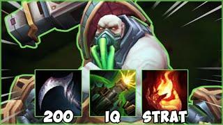 NO TEAM NO PROBLEM! Hard stomp games on your own with THIS URGOT STRATEGY!