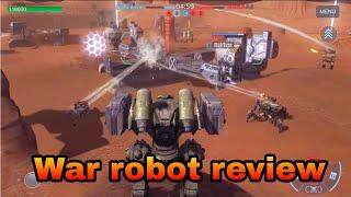 war robots 6v6 tactical multiplayer battles | war robots review in hindi | war robot android