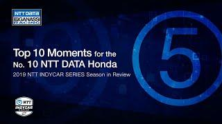 2019 Season in Review: Top 5 Moment for the No. 10 NTT DATA Honda