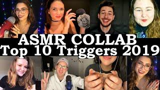 ASMR TOP TRIGGERS of 2019 Collab *HOUR Long ASMR* - #HAPPYNEWYEAR