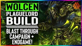 WOLCEN BUILD GUIDE | Plaguelord Build - MASSIVE AOE + DECENT CLEAR SPEED! (Easy & Powerful Starter)