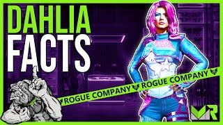 Top 5 DAHLIA Facts in Rogue Company #shorts