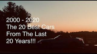 The 20 Best Cars Driven In The Last 20 Years | Y2K - 2020 | Automotive Affairs New Years Special !