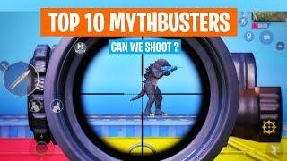 Top 10 Mythbusters in PUBG MOBILE   PUBG Myths part - 2