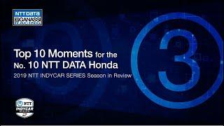 2019 Season in Review: Top 3 Moment for the No. 10 NTT DATA Honda